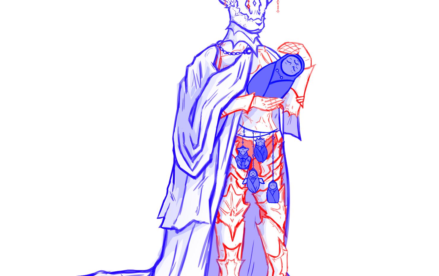 Divine Power Figure