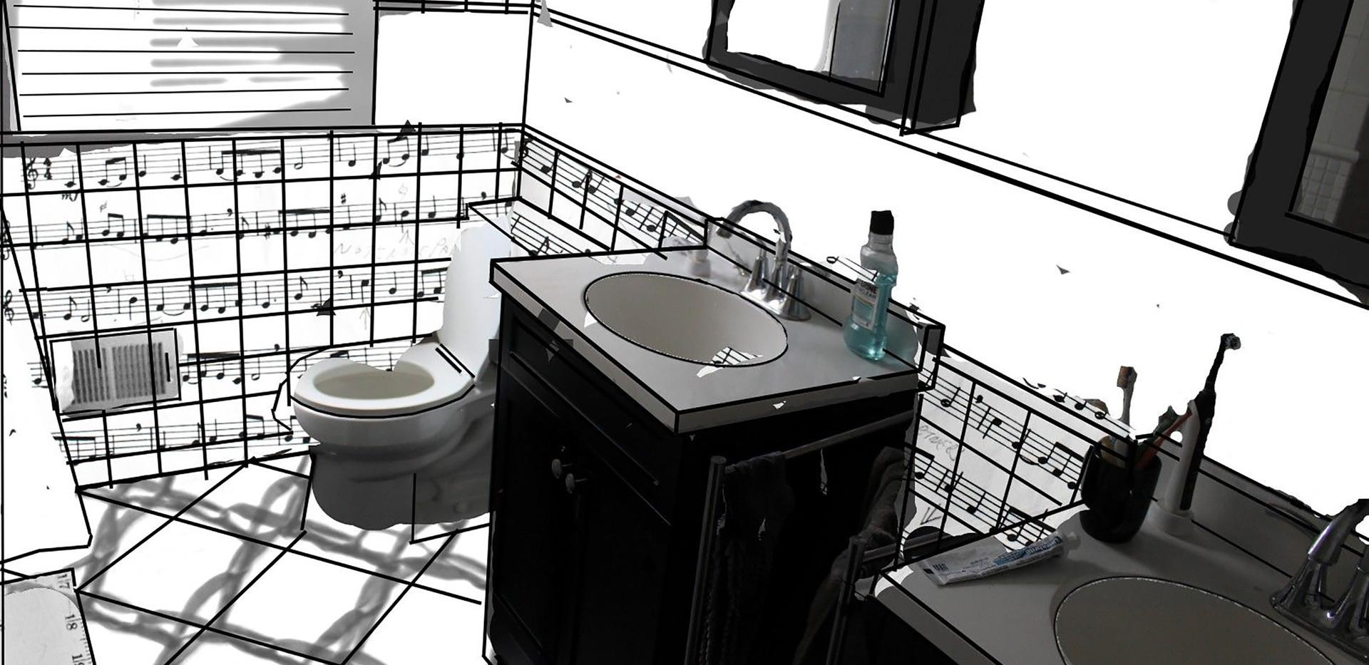 Bathroom Blending