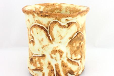Yellow Salt Tea Cup