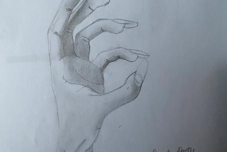 Shaded Hand