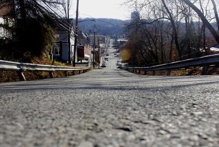 Downward Hill
