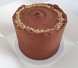 chocolate hazelnut celebration cake