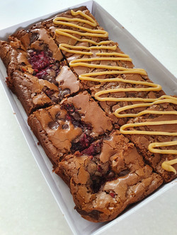 induglence brownies box triple chocolate