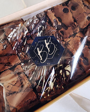 Bitesize Bakehouse brownies gift box