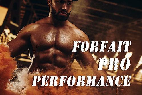 Forfait Pro Performance