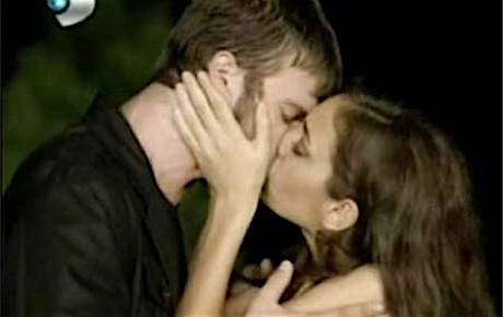 Cemre kissing Kuzey