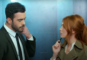 Turkish drama romance Omer and Defne Kiralik Ask
