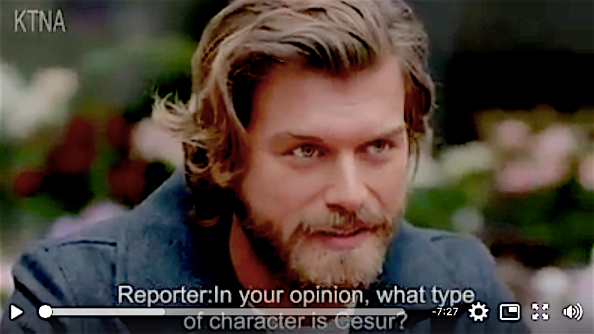 Kivanc Tatlitug interview in English