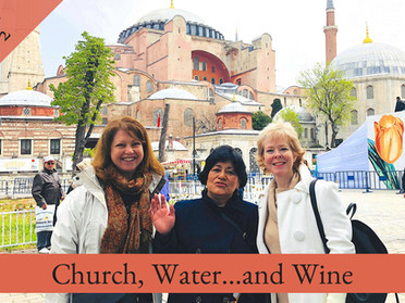 Istanbul Trip Day 2: An Experience of Church, Water...and Wine