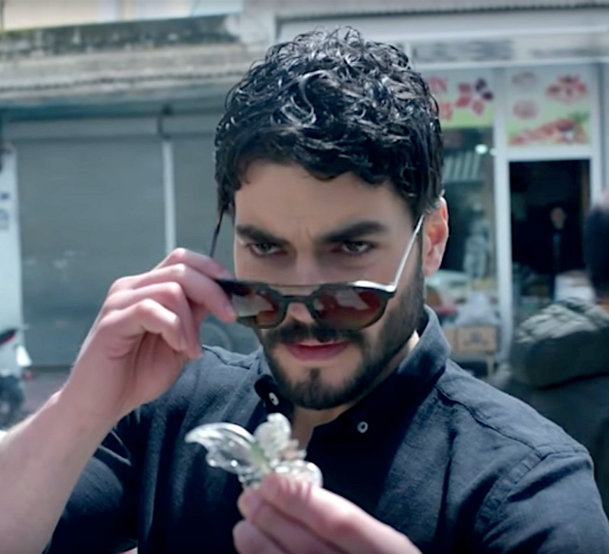 Hercai Miran's first meeting with Reyyan hair clip