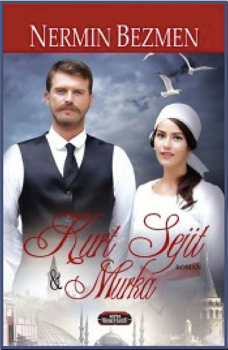 Kurt Seyit & Murka by Nermin Bezmen book cover with  Kivanc Tatlitug