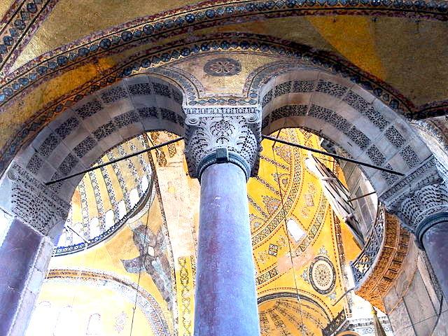 Hagia Sophia Interior--Lower Level