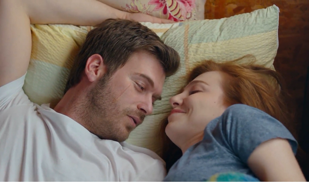 turkish drama romance Carpisma ZeyKad Zeynep and Kadir kiss