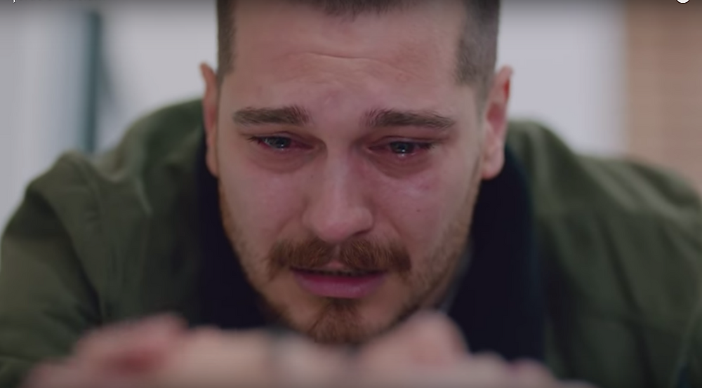 Icerde episode guide-- Sarp's response to Melek's death
