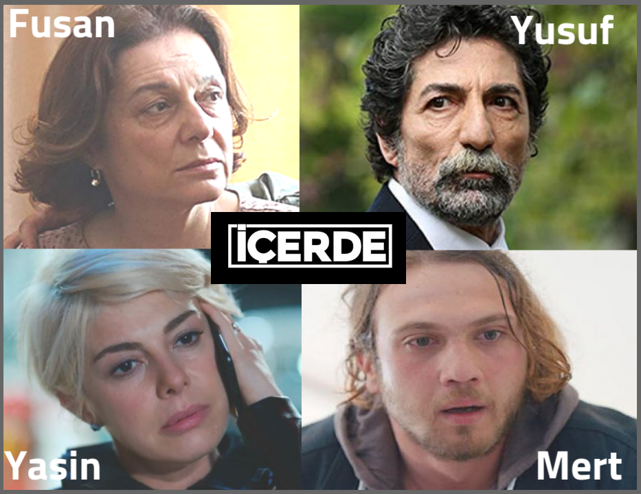 Icerde review   cast  fusan yusuf Yasin MErt