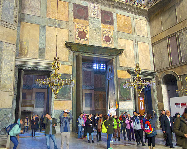 Hagia Sophia Doors & Stonework
