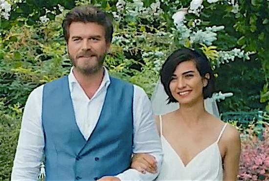 Kivanc Tatlitug & Tuba Büyüküstün Cesur ve Guzel wedding