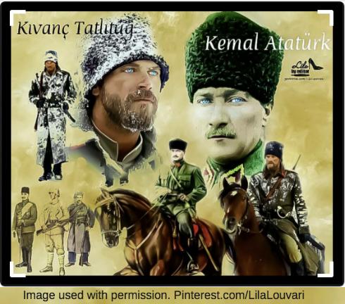 Kivanc Tatlitug Kemal Ataturk