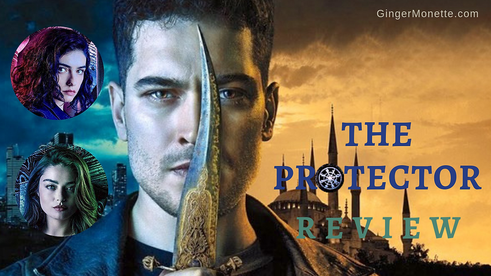 Netflix The Protector review logo Cagatay Ulusoy