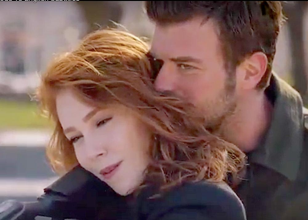 Kadir and Zeynep Carpisma romantic scenes