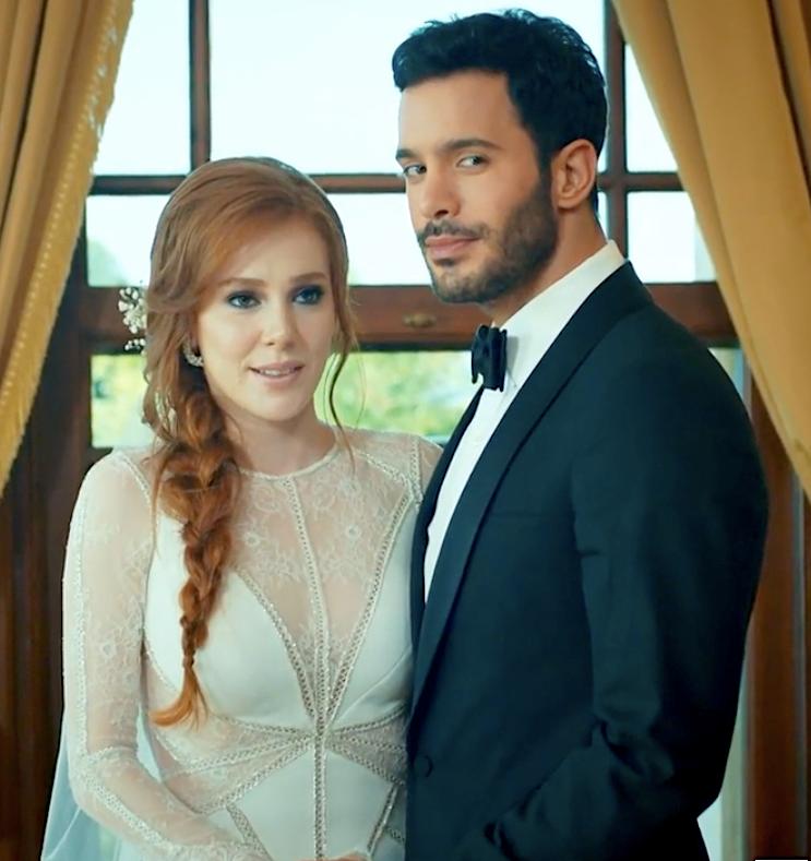 Kiralik Ask Omer and Defne wedding romance