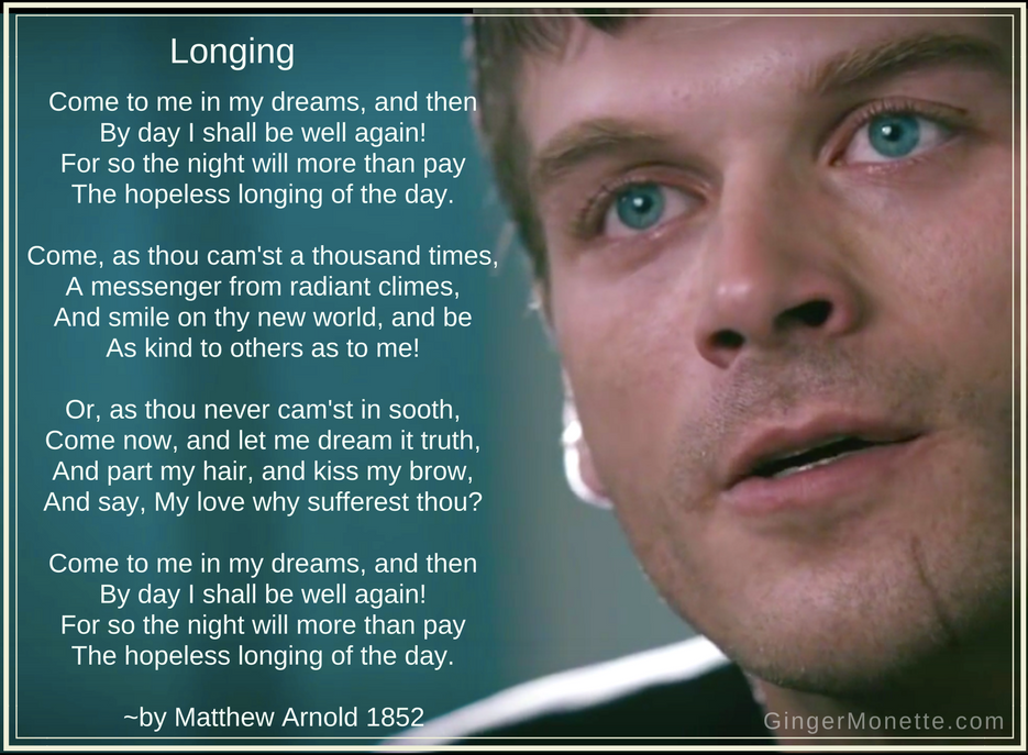 Kuzey Guney --comparing Kuzey to Matthew Arnold poem