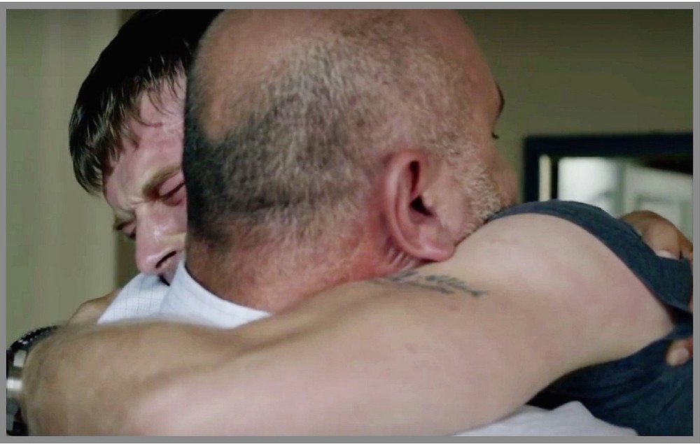 Kuzey breaks down with his father dad