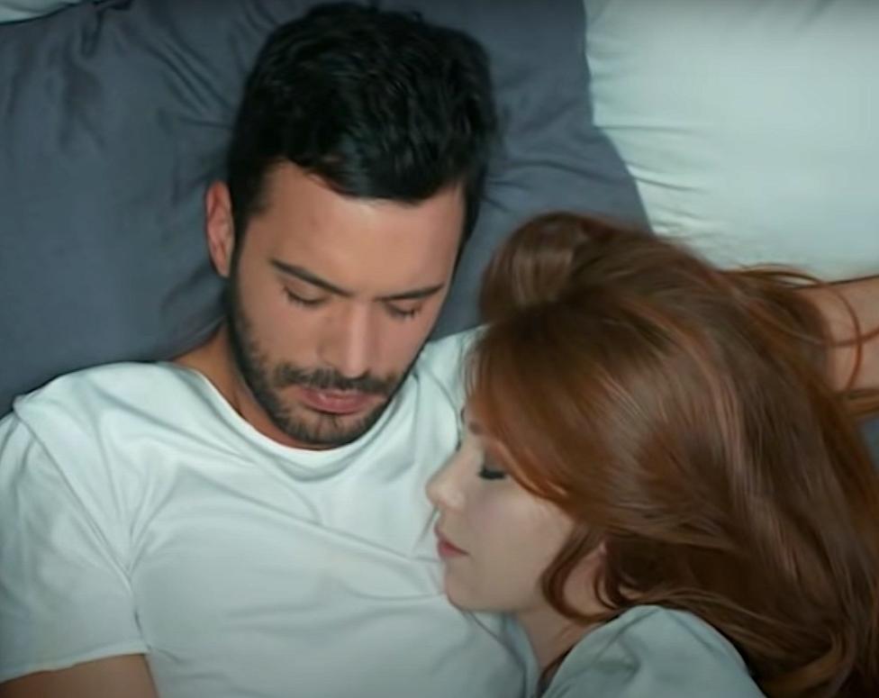 Defne and Omer romance Kiralik Ask Turkish drama romantic moments