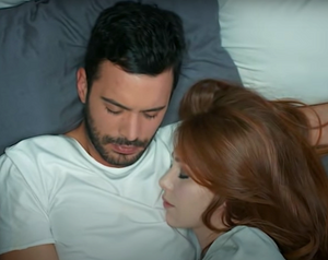 Defne and Omer romance Kiralik Ask Turkish drama romantic moments