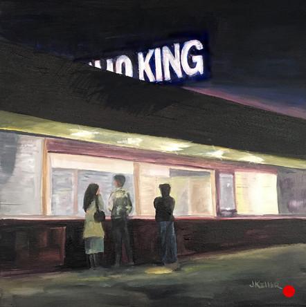 Eskimo King (after E Hopper)