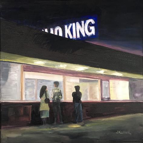 Eskimo King after Hopper