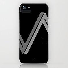 Versatile Assassins Logo Cell Phone - grey on black