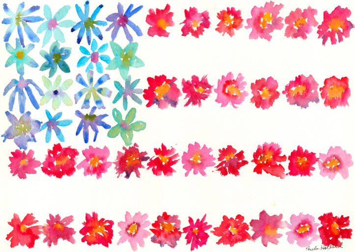 Flower Flag