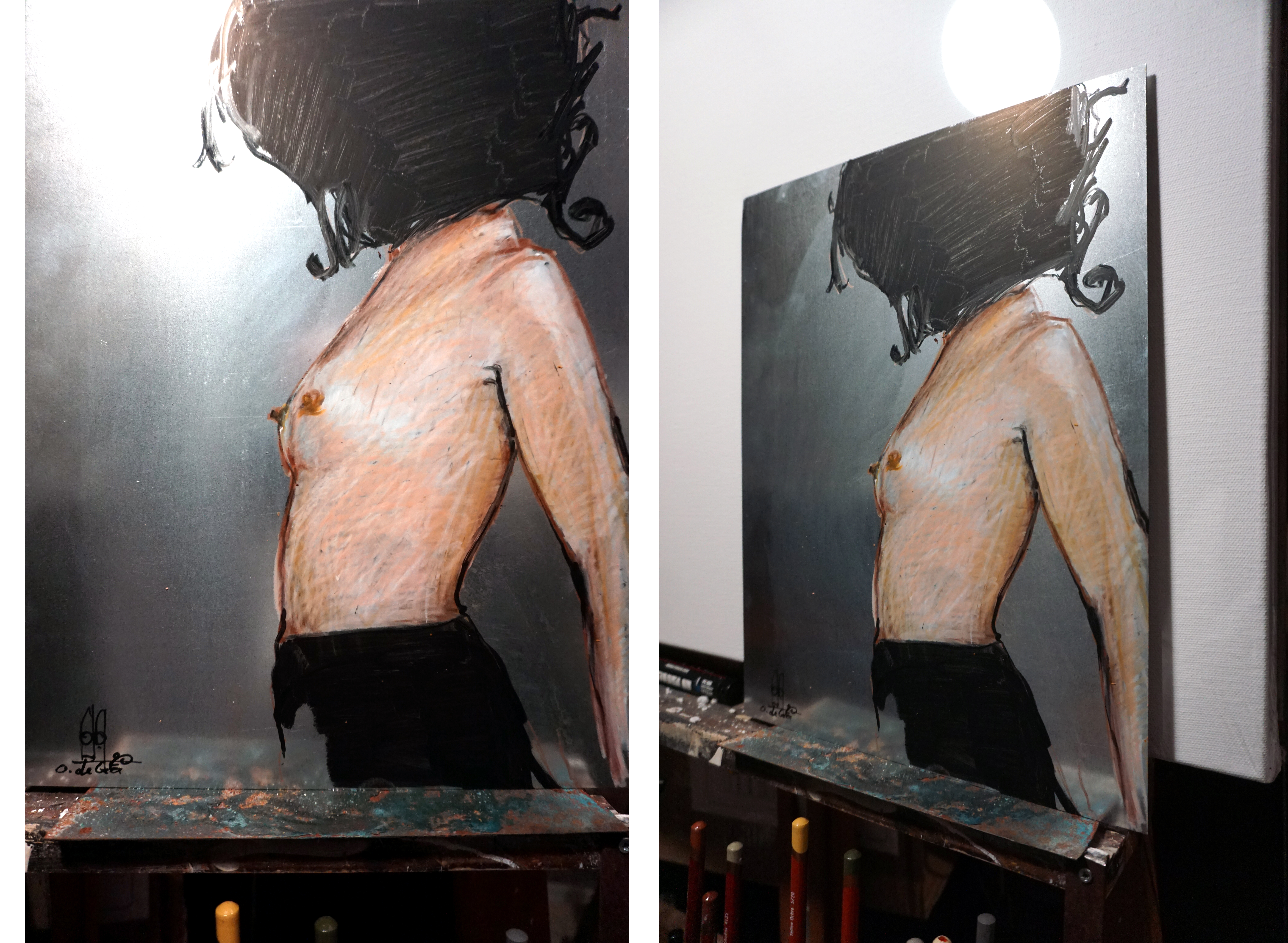 Pencil Nude 4