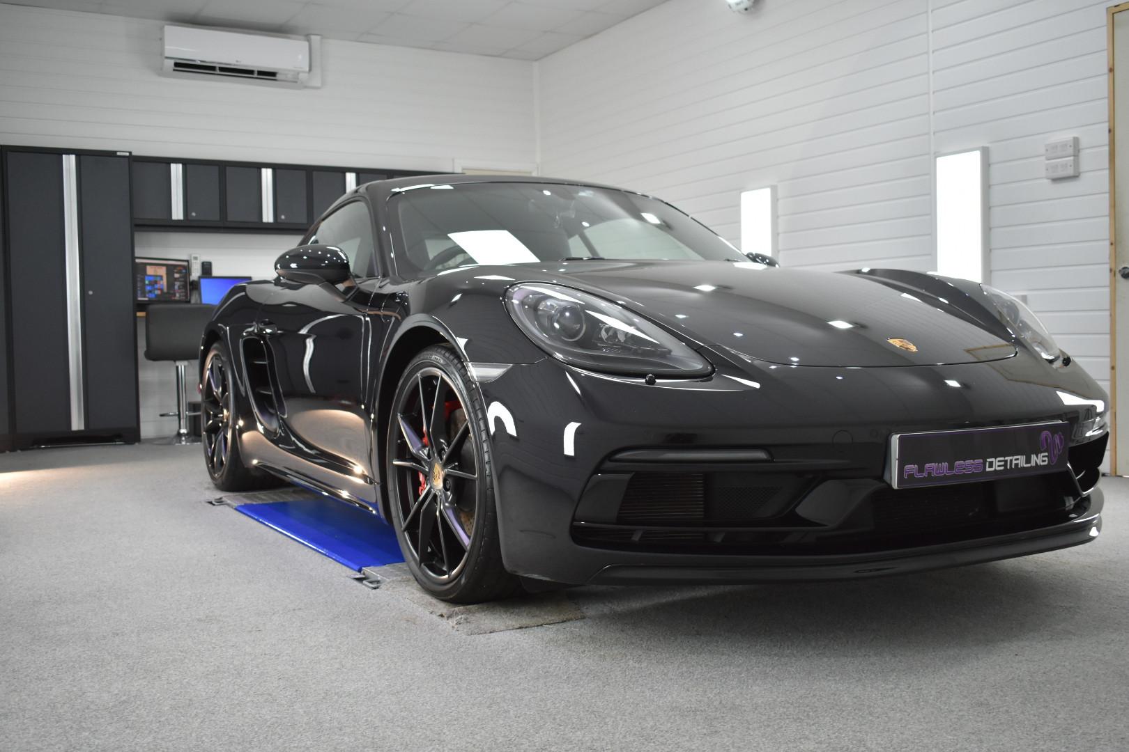 Porsche Cayman GTS & PPF - Detailing Cov