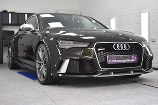 Audi RS7 - Mild Correction & Gyeon Duraflex. Coventry, Warwickshire, West Midlands