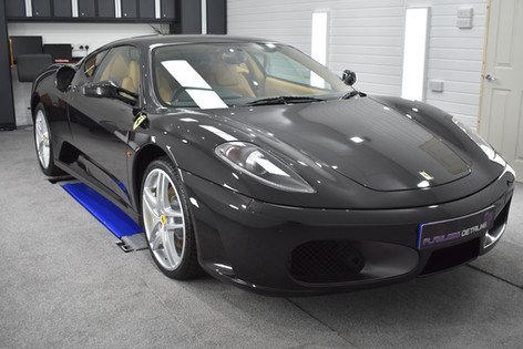 Ferrari 430 - Flawless Detailing, Coventry & Warwickshire, Gyeon Certified Detailer, Gyeon