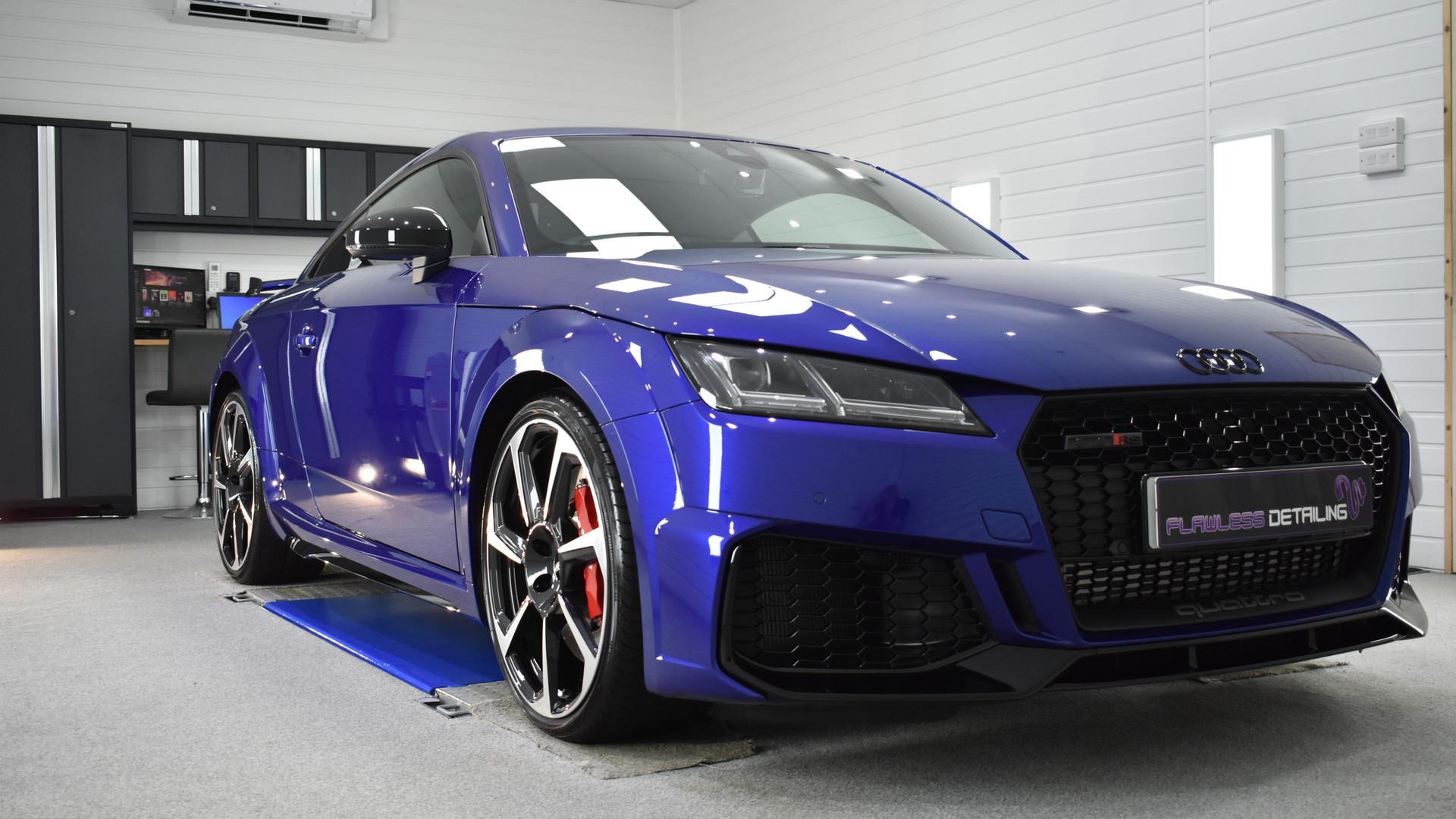 Audi TTRS - New Car Protection Detail -
