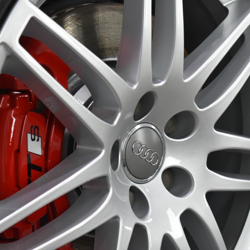 Audi TTS wheel colour change, Caliper Refinishing & coated with Gyeon Rim - Coventry, Warwickshire, Solihull