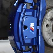 BMW Caliper Painting - M Sport Blue, Cov