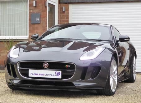 Jaguar F Type S - Mild Correction & GYEON Protection Detail