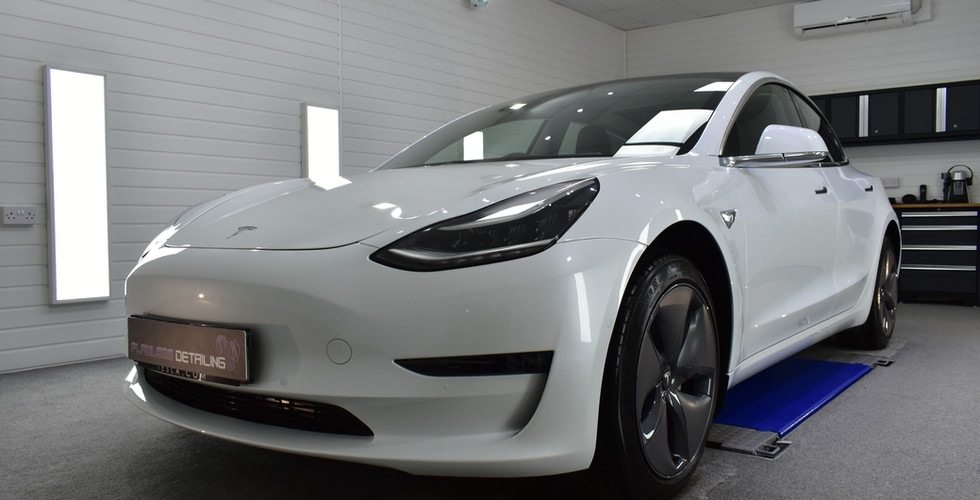 Tesla Model 3 - New Car Protection Detai