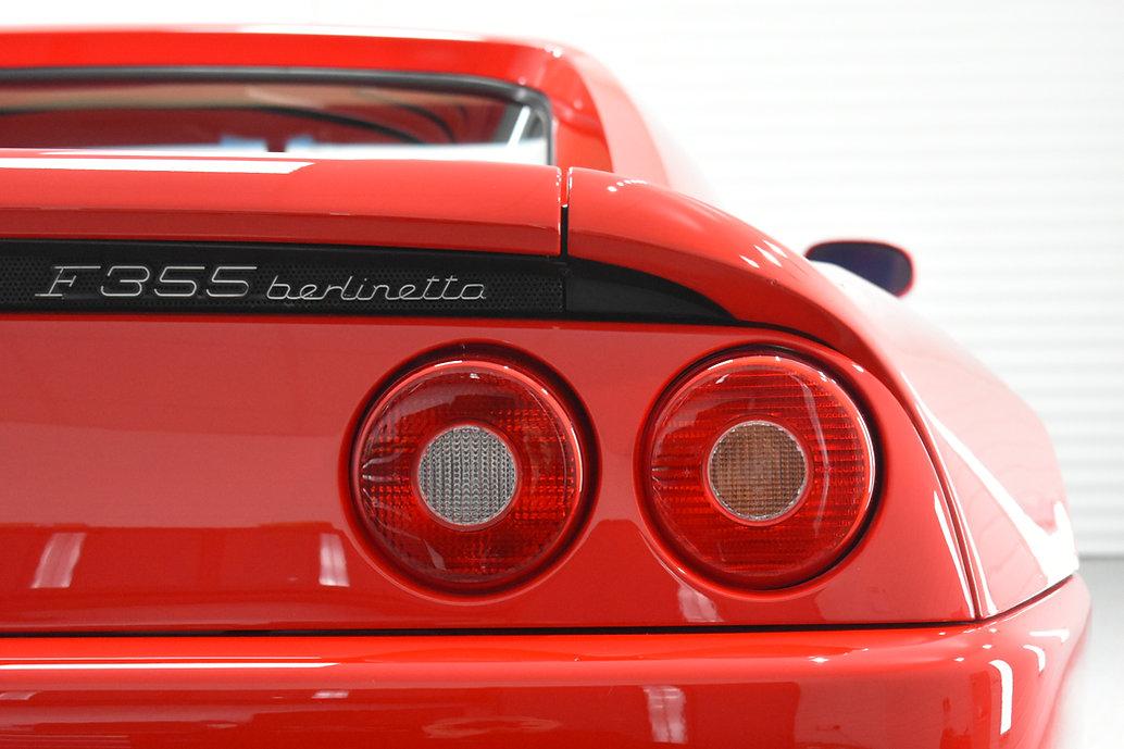 Ferrari 355 - Signature Correction detail. Warwickshire, Coventry, Gyeon Draflex