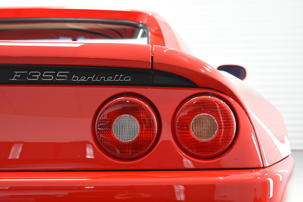 Ferrari 355 - Signature Correction detail. Warwickshire, Coventry, Gyeon Draflex