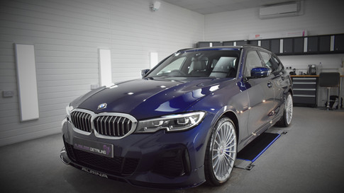 BMW Alpina B3 - New Car Protection Detail - PPF & Gyeon Coatings, Coventry, Warwickshire -