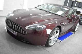 Aston Martin Vantage S - Mild Correction & Gyeon Duraflex. Coventry, Warwickshire, West Midlands
