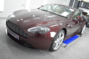 Aston Martin Vantage S - Mild Correction & Gyeon Duraflex. Coventry, Warwickshire, West Midlands