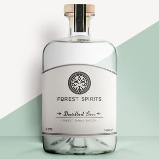 forest spirits branding