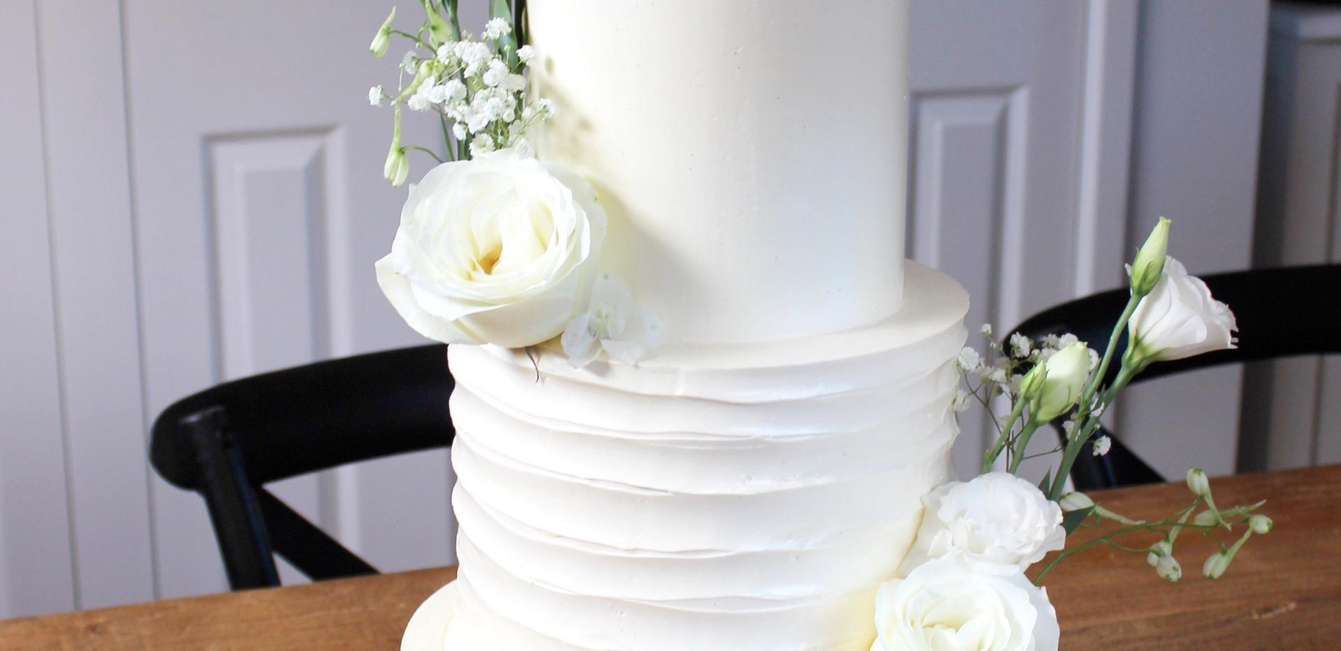 Three tiered White Beauty