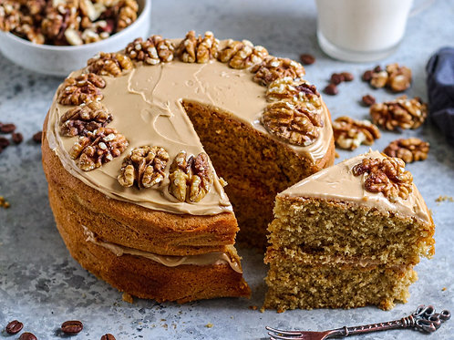 Coffee and Walnuts Cake 7'' 6-10portions